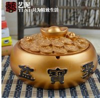 Wholesale wond carved nice design carved living room office personality fashion astray fhrfgr