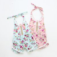 Wholesale new stocks baby girl playsuit sunsuit summer rompers clothing newborn princess little cute summer cotton clothes