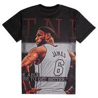 basketball tee shirt designs - Casual Summer Style Men T Shirt Basketball Super Star James Kobe Bryant Classic T Shirt Print Sportswear D Pattern Design Tees