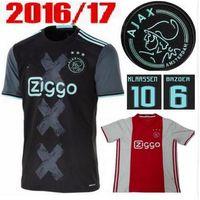 ajax football club - 2016 Amsterdamsche Football Club Ajax Soccer Jersey survetement football Shirt maillot de foot Thai quality