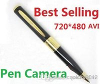 Wholesale Factory Price The Cheapest one Spy Camera Spy Pen Camera Hidden Webcam Camera Freeshipping Support TF Card