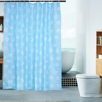 Wholesale 2016 New Shower Curtain Lanbei Thick Waterproof Mildew Curtain Bathroom Shower Upscale Hotel factory Direct Supply