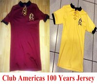 Wholesale Top Quality Mexico Club America Soccer Jerseys Years jersey Home Away Red th Anniversary football Shirts