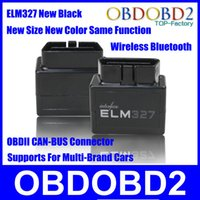audi sizes - 2015 New Arrival ELM327 New Size Middle Black OBDII Car Diagnose Scanner OBD CAN BUS Works ON Android Torque ELM Connector