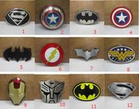 Wholesale 2016 New Super Heroes superhero captain America batman Big Belt Buckle Buckles High Quality