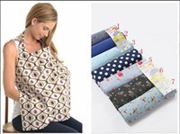 Wholesale New Cleanable Baby Breast Feeding Nursing Poncho Udder Covers Cotton Blanket