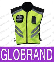Wholesale new Tour de France Reflective Vest Breathable Cycling Clothing Bike Bicycle Cycle Vests Jacket GLO760