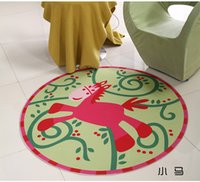 baby horse games - Little Horse Baby Kid Game Blanket Crawl Non slip Mat Cotton Toys Receive Mat photography props