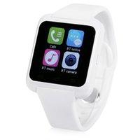 achat en gros de mains libres bluetooth bracelet-Hot Selling Montre Smart U8 U80 U MTK Handsfree Bluetooth Digital-montre Bracelet Sport Wristband Pour Téléphone Android Samsung