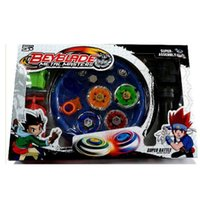 Wholesale Beyblade Arena Spinning Top Metal Fight Beyblad Beyblade Set Metal Fusion Children Gifts Classic Toys Birthday Gift
