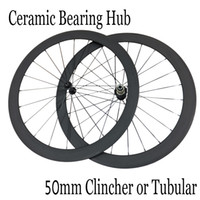 Wholesale Only g mm Clincher Tubular Carbon Wheelset C Powerway R13 Ceramic Bearing Hub bike Carbon Road Bicycle Wheels