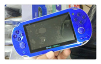 Wholesale DHL HOT G300 game console GB memory thousand free games portable mp5 game player for sega for nes console supaboy