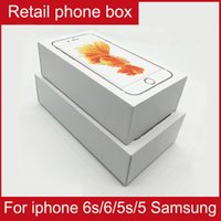 accessory for iphone - Free DHL shipping Retail Box Retail Package For iPhone S Plus S S Cell Phone Box With Accessories For Samsung S4 S5 S6 S7 edge Phone