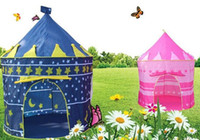 baby outdoor tent - Tente Enfant Ultralarge Children Beach Tent Baby Toy Play Game House Kids Princess Prince Castle Indoor Outdoor Toys Tents Christmas Gifts