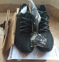Wholesale With Original Shoes Box Kanye West Boost Low Pirate Black Turtle Dove Oxford Tan Moonrock Quality Dropshipping Accepted