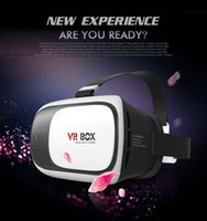 Wholesale HOT Google cardboard VR BOX II Version VR Virtual Reality D Glasses For inch Smartphone Bluetooth Contron