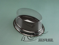 bakery container - Oval Cake Container Disposable Plastic Blister Box For Bakery Packing Baking Packaging ATE07