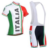 Wholesale ITALIA cycling jersey Breathable Quick Dry jersey and shorts many choice tight fitness cheap clothing