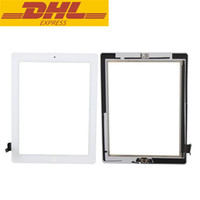 Wholesale 100 Tested Touch Panel For Ipad Touch Screen Digitizer Panel With Home Button Flex With Camera Holder Complete DHL Freeshipping