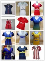 arsenal soccer club - DHL Mixed buy Women Arsenal Tigers Atletico Madrid Inter Milan Jerseys Real Madrid Shirt America club Jersey rugby or mor