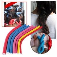 flexi rods - New Homeoculture Self Holding Hair Curling Flexi Rods Magic Air Hair Roller Curler Bendy Magic Styling Hair Sticks Hair Pin