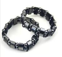 Other fashion bracelets for men - Black Magnetic Hematite Beads Bracelets Fashion Black Magnetic Hematite Beads Bracelet for men women Beads Bracelets