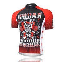 Wholesale 2015 Red devil Cycling Jerseys Cycling clothing bicycle jersey Team bike bicycle Cycling jersey short sleeve Cycling wear
