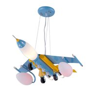 airplane hanging - Iron Airplane Boy s Room Hanging Lamp Creative Kid s Room Pendant Light Baby Room Cartoon Pendant Lamps