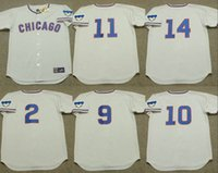 banks jersey - Grey LEO DUROCHER RANDY HUNDLEY ERNIE BANKS RON SANTO DON KESSINGER Chicago Cubs throwback Baseball Jersey stitched