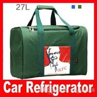 Wholesale Small Stack L Source free Car Refrigerator Dual Ice Pack Insulation Bag