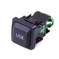 Wholesale Car Volkswagen Original RCD USB Switch Plug For VW Jetta MK5 MK6 Golf MK5 MK6 Scirocco KD A KD035726A