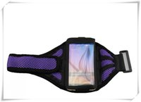 Wholesale S3 Gym Strap - Adjustable Reticular Arm band Cases Sport Net Armband Running Gym Strap Holder for Samsung galaxy S3 For Iphone 6 6s case