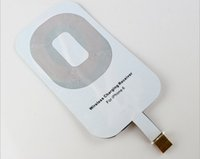 apple wireless adaptor - Universal QI wireless charging receiver power adaptor receiver charging module for iphone C S S plus