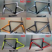 Wholesale 2016 orange black cipollini NK1K carbon road frame T1000 carbon road bike frame carde carbono more colors