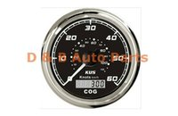 Wholesale 1pc KUS GPS Speed Chart Speedometer Knots For Auto Boat With GPS Antenna Black Color