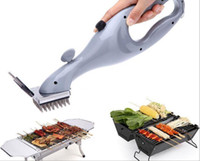 barbecue grill machine - Free Ship New Hot Sale Grill Daddy Barbecue BBQ Bakeware Grill Steam Cleaner Brush Portable