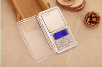 Wholesale 500g g New Arrive Mini Electronic Digital Pocket Scale Jewelry Weighing Balance Counting Function Blue LCD g tl oz ct