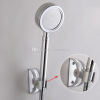 Wholesale 1PC Space Aluminum Fixed Shower Ledge Universal Shower Seat Silver E00460 OSTH