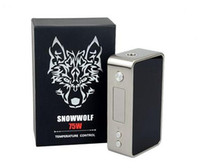 battery overheat - Snowwolf Mini W TC Box Mod E cigarette Kits Temperature Control Adjustment Reverse Battery Protection Overheating Prevention