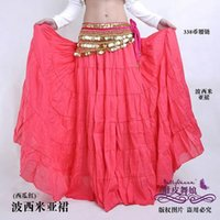 adult gypsy costumes - Hot Fashion Tribal Bohemia Long Skirt Swing Gypsy Skirts Women Belly Dance Ballroom Costume Full Circle Dress