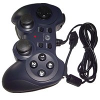 Wholesale USB Dual Shock Controller Game pad Joypad For PC