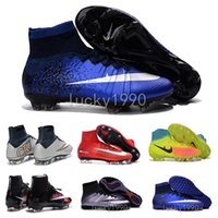 army shoes for kids - Original Kids MerCURial SuPERfly CR7 shoes TF womens MaGista OrDen II FG football Boots for women kids SuPERflys youth soccer cleats indoor