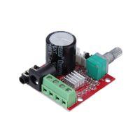 audio amplifier ics - Mini HiFi Amplifier Board W Dual Channel Hi Fi PAM8610 Amplifier Module Board V for Computer Audio Red