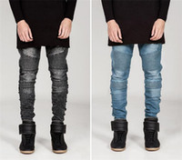 apparel model - NEW SALE jeans for men Fashion Famous Desginer models men s pants streetwear ripped zipper Demin Trousers men Apparel