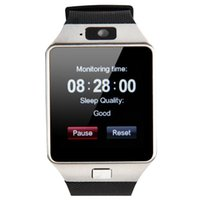 Wholesale DZ09 Smart Watch GT08 U8 A1 Wrisbrand Android iPhone Smart SIM Intelligent mobile phone watch can record the sleep state Smart iwatch