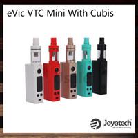 joyetech - Joyetech eVic VTC Mini with Cubis Kit Firmware Upgradeable With W eVic VTC Mini Mod Cubis Atomizer Original