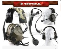 Wholesale Peltor Sound Trap Z TAC pickup noise reduction tactical headset with Mike radio headset