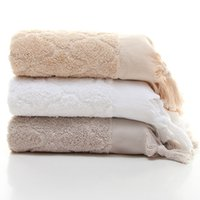 Wholesale Pure Cotton Thicker Tassel Towel Superior Long Stapled Cotton Towel Customized Size Available Best Factory Price