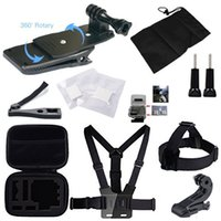 Wholesale 21 in Headband Chest Strap Climbing Skiing Riding Sports Accessory Kit For GoPro Hero Camera