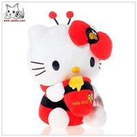 bee puppets - Hello Kitty RED Bee Kawaii cm Plush FREE Gift Kawaii CHINA